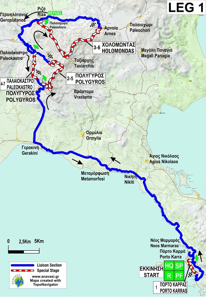 32o Rally Elpa Wrario Xartes